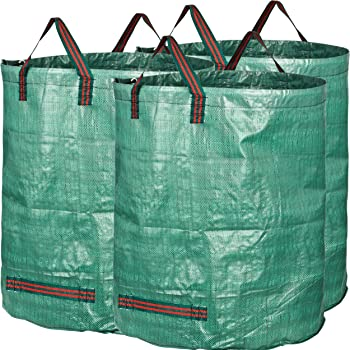 GardenMate 3X Sacs de Jardin PROFESSIONNAL 300L indéchirables