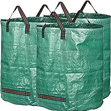 GardenMate 3X 300L Gartensack Professional aus robustem Polypropylen-Gewebe (PP) mit doppeltem Boden