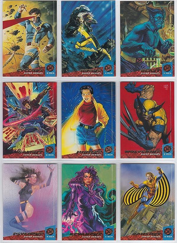 X-Men Fleer Ultra 1994 Trading Card Complete Set