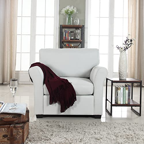 White Club Chair: Amazon.com
