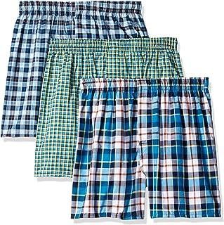 Hanes Ultimate Men's 3-Pack Hanging Boxer Waterfall Package