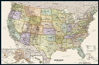 Legacy USA Wall Map - 50