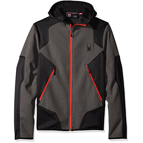 Spyder Mens Sanction Light Weight Stryke Fleece Hoody