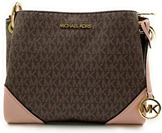 Michael Kors Nicole Large Triple Compartment Cross-body Bag