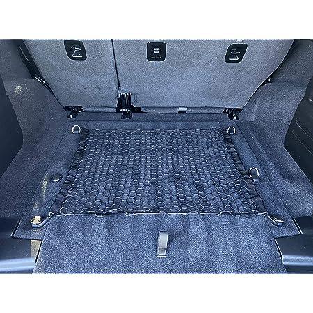 Floor Style Trunk Cargo Net Black for Jeep Wrangler JL Sahara Rubicon Unlimited 4 Door 2019 2020 2021