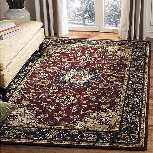 3x5 Wool Rug Navy Amazon Com