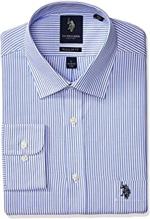 U.S. Polo Assn. Men's Reguar Fit Striped Semi Spread...
