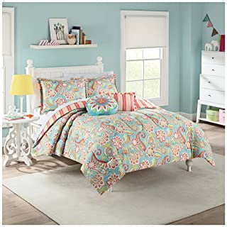 WAVERLY Kids Wild Card Reversible Bedding Collection, Twin, Multicolor