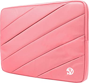 Phantom X Leopard Shock Absorbing Laptop Sleeve Pink for Apache Creator 14 to 15.6 inch Mobile Workstation Dominator Raider Stealth