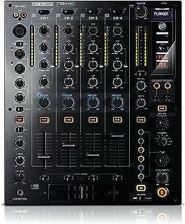 Mesa de mezclas RMX-60/80/90, de Reloop, 4+1 canales, con 8 efectos beat DSP integrados, pantalla LC, ecualizador de 3 bandas (Kill/Classic), curvas de línea y crossfade (ajustable) y compatibilidad con innofader, negro, Negro