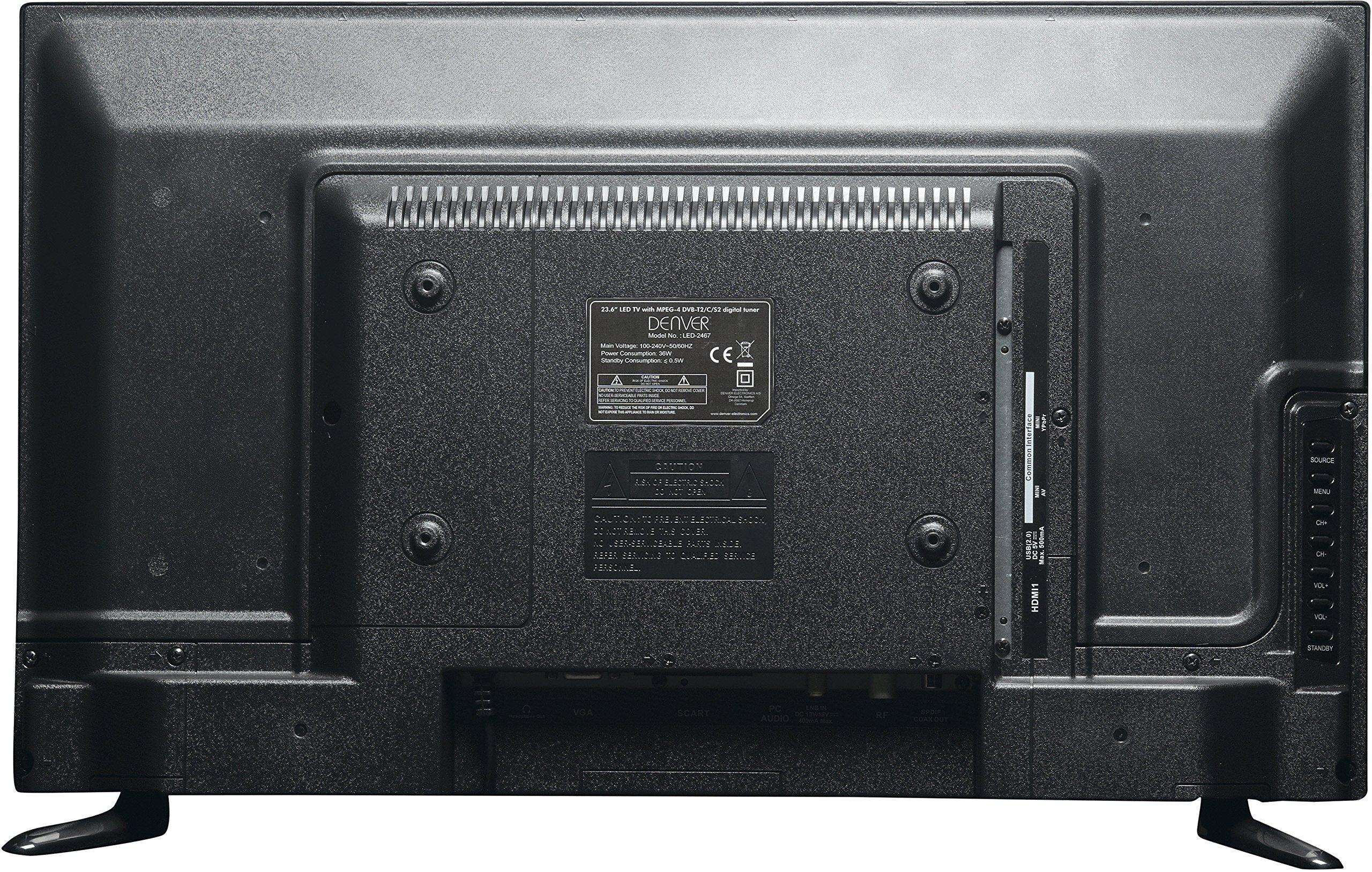 TV DENVER LED-2467 - 23.6/59.9CM - FULL HD - DVB-T2: Amazon.es ...