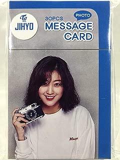 JIHYO ジヒョ - TWICE トゥワイス グッズ / フォト メッセージカード 30枚セット - Photo Message Card 30pcs [TradePlace...