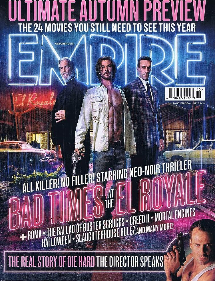 まばたき不信休戦Empire [UK] October 2018 (単号)