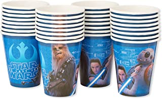 American Greetings Star Wars: The Last Jedi Party Supplies, Disposable 9 oz. Paper Cups, 32-Count
