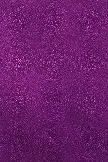 Allgala 12 Pack Glitter EVA Foam Paper 8x12 Inch Sheets-Purple-CF85006
