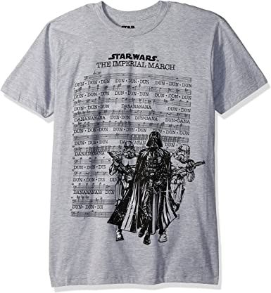 STAR WARS Imperial March Sheet Adult T-Shirt