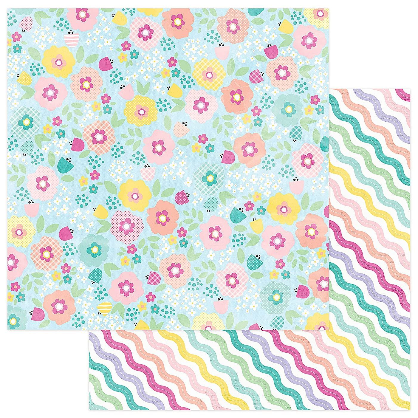 Photo Play Paper Spring Meadow Easter Blessings Double-Sided Cardstock 12