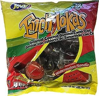 Jovy Enchilokas Watermelon Flavor   1lb, 32 ct   Mexican Candy