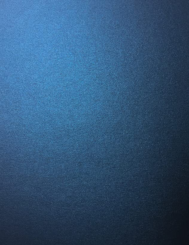 Lapis Lazuli Blue Stardream Metallic Cardstock Paper - 8.5 X 11 inch - 105 lb. / 284 GSM Cover - 25 Sheets from Cardstock Warehouse