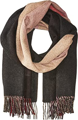 COACH - Oversized Reversible Plaid Cashmere Muffler