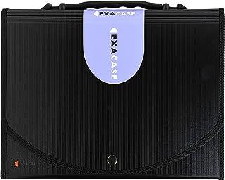 Exacompta - Réf. 55934E - Trieur valisette avec poingée Exacase - gamme Exactive - 13 compartiments avec onglets personali...