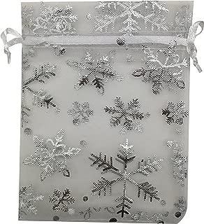 SUNGULF 50pcs Organza Pouch Bag Drawstring 5