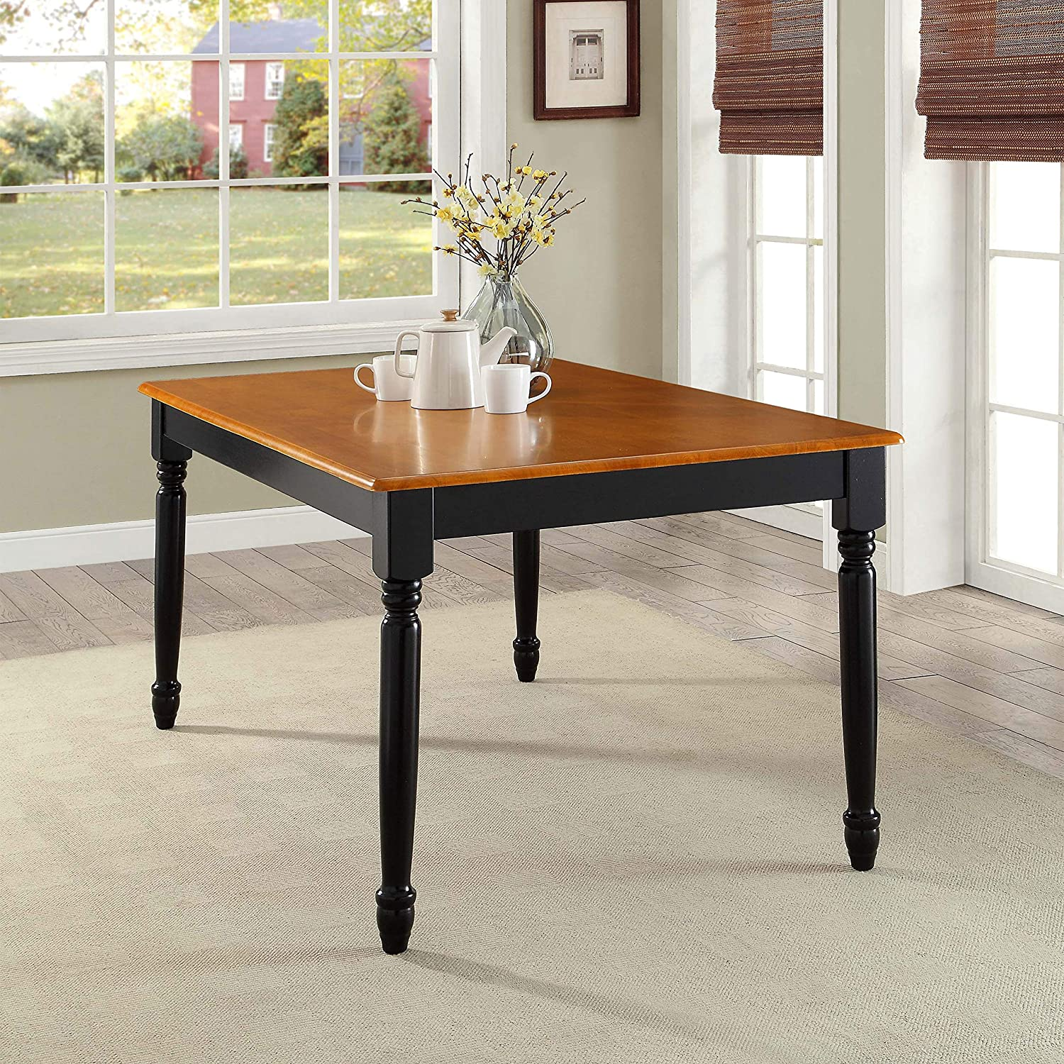 Better Homes and Gardens Autumn shop Bla Lane Translated Farmhouse Dining Table