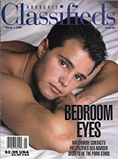 Kevin Cole l Hal & Vince Rockland l Secrets of the Gay Porn Stars - March 7, 1995 Advocate Classifieds