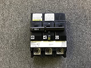 SQUARE D BY SCHNEIDER ELECTRIC QOB3150VH MINIATURE CIRCUIT BREAKER 240V 150A