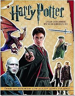 Harry Potter: Das große Stickerbuch: Über 300 Sticker aus allen 8 Filmen!