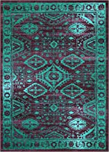 Best purple and turquoise rug Reviews