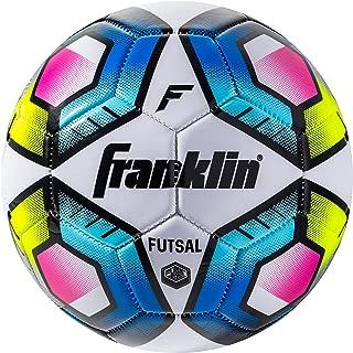Franklin Sports Futsal Ball - Official Size Futsal Soccer Ball - Indoor and Outdoor Futsal Ball - Size 3 Junior Size Ball and Size 4 Official Size Ball