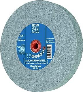 PFERD 61796 Bench Grinding Wheel, Silicon Carbide, 8