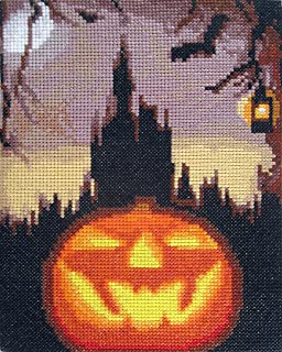 Halloween Night Counted Cross Stitch Kit By Orcraphics
