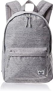 Herschel Supply Co. Classic Mid-Volume Backpack, Light Grey Crosshatch, One Size