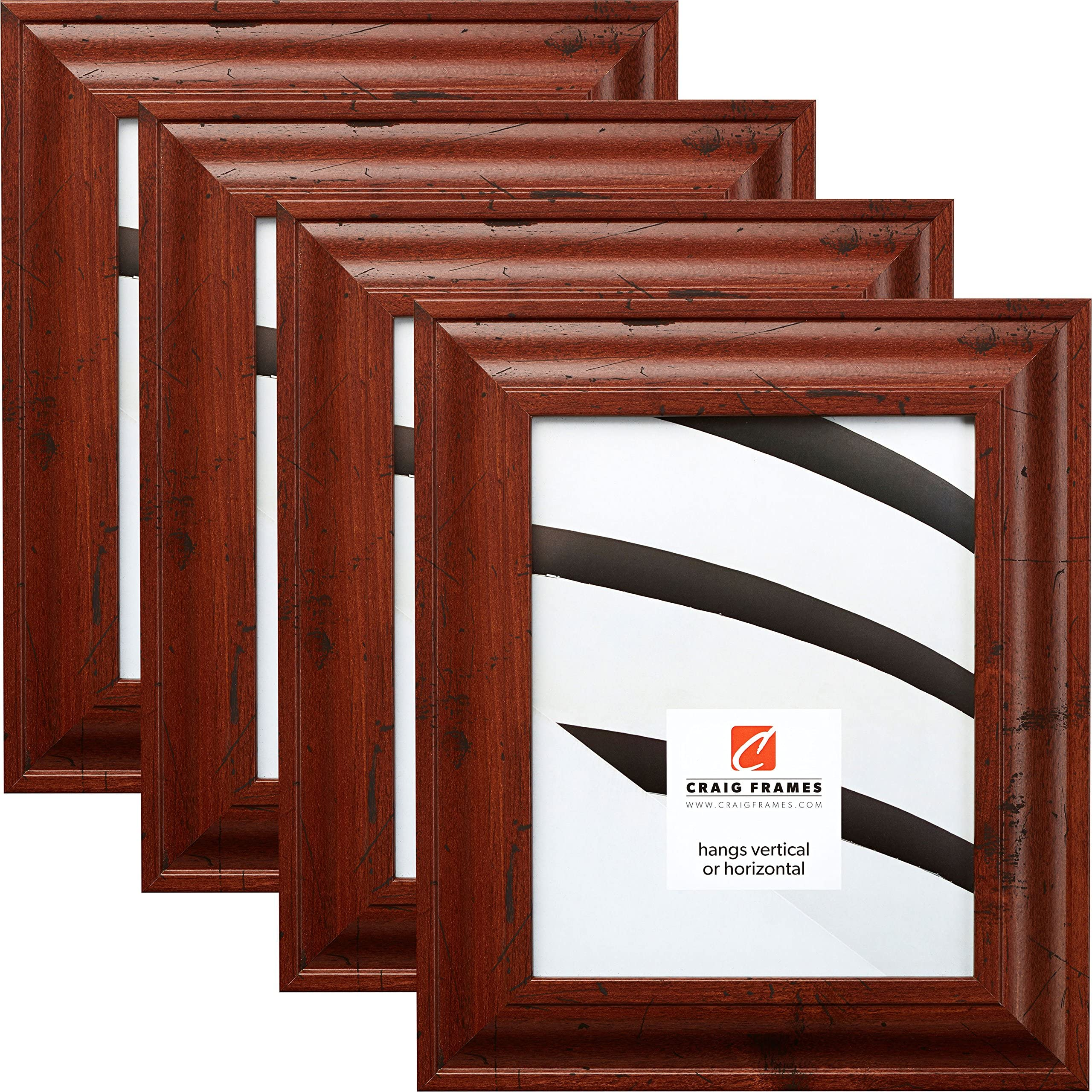 Craig Frames 440CH2228 Wiltshire 1.265 Wide 22x28 Inch Cherry Red Solid Wood Picture Frame