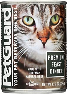 PetGuard All Natural Wet Canned Cat Food for Cats and Kittens