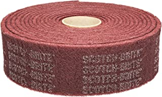 Scotch-Brite(TM) Clean and Finish Roll, Aluminum Oxide, 4 Width x 30' Length, A Fine Grit (Pack of 1)