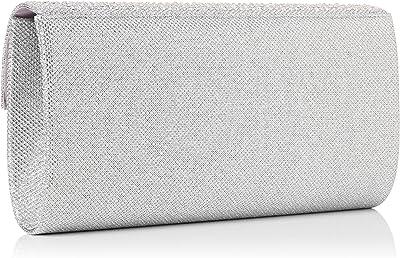 SwankySwans Damen Clutch Montary Glitter Diamant Umschlag, 3x14x27 cm (B x H x L)