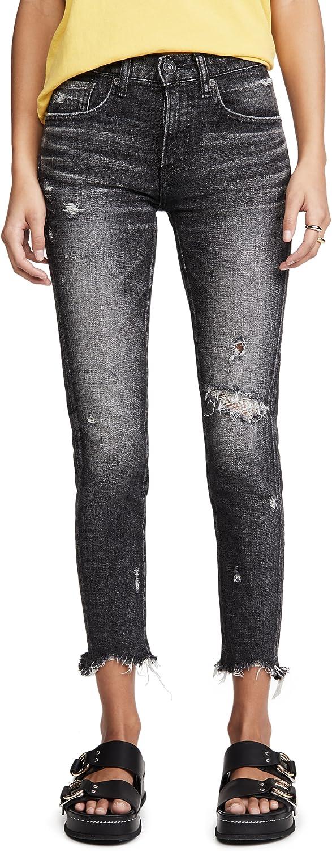 MOUSSY VINTAGE Women's MV Glendele Skinny Black Jeans