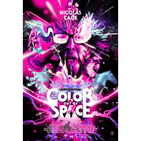 Color Out of Space 2020 Movie Poster 21 24x36 L-W Canvas E-247