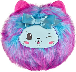 """Pikmi Pops Cheeki Puffs - Purrfume The Cat - 1pc Large 7"""" Collectible Scented Shimmer Plush Toy in Perfume with Surprises"""