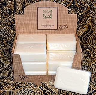 Case of 12 Pre de Provence Sweet Milk 250 gram shea butter extra large soap bars (Display box not included)
