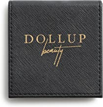 Dollup's Refillable Magnetic Makeup Compact For Powder, Eyeshadows, Blush & More (Small Black Palette) Empty