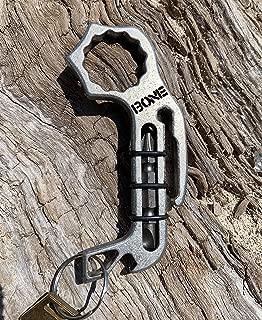 Stainless Steel Bone Breaker Multitool Keychain