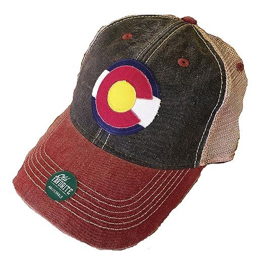 Legacy Athletic Colorado Flag Trucker Cap 97e0e154c9d1