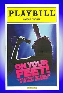On Your Feet, The Story of Emilio & Gloria Estefan, Pre-Opening Broadway Playbill + Ana Villafane, Josh Segarra, Andrea Burns