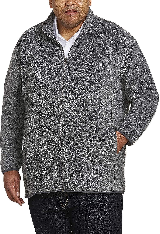 Amazon Essentials Men's Big Tall Jacket Fleece Polar NEW before selling Full-Zip famous