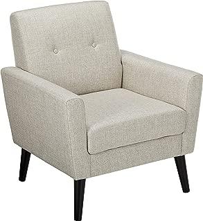 Christopher Knight Home Sierra Mid Century Beige Fabric Club Chair