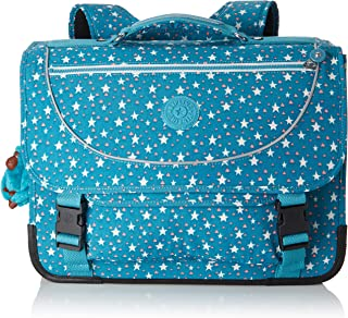 Kipling Preppy Bright Aqua Combo Cartable Turquoise